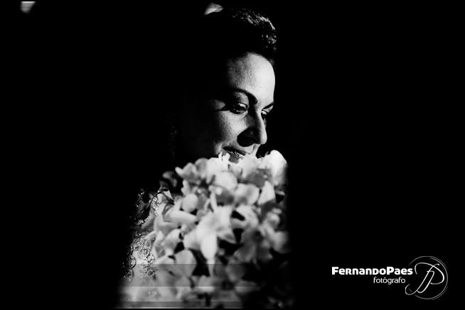 Fotos PB Preto e Branco da Noiva do Fotógrafo FernandO Paes