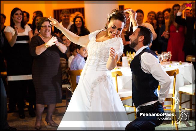 Fotografia Casado - Fotógrafo Fernando Paes - Noivos Dançcando