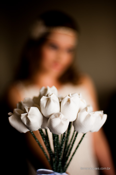 Buquê da Noiva - Fotógrafo de Casamento - Fernando Paes