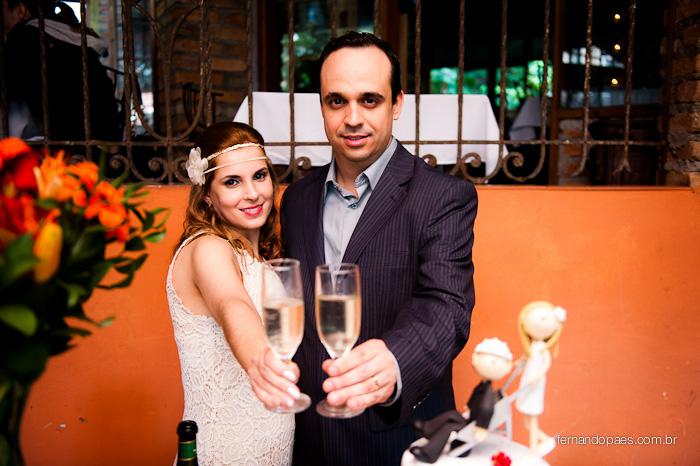 Festa de Casamento - Champanhe