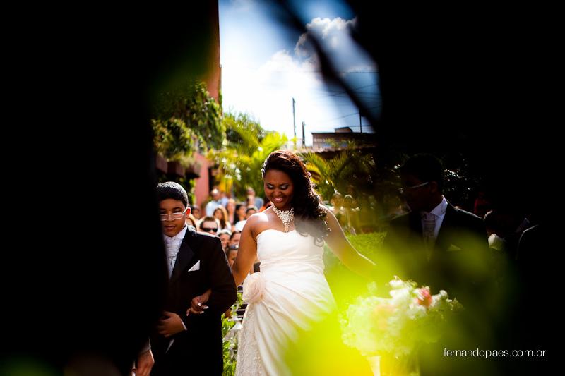Entrada da Noiva com Pajem