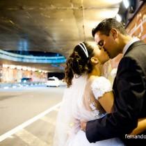 fotos do casamento na avenida paulista em SP
