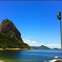Foto do Pão de Açucar no Rio de Janeiro feita com iPhone